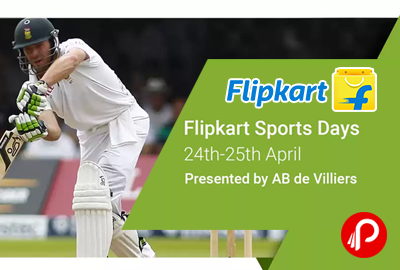 Flipkart Sports & Gaming Days