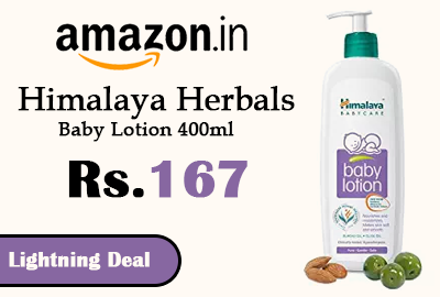 Himalaya Herbals Baby Lotion 400ml