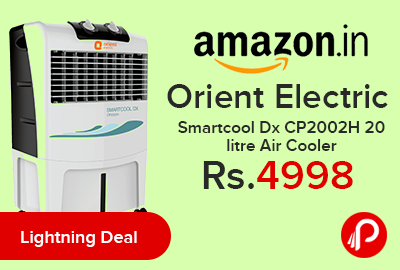 Orient Electric Smartcool Dx CP2002H 20 litre Air Cooler at Rs.4998 Only - Amazon