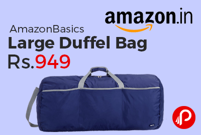 AmazonBasics Large Duffel Bag at Rs.949 Only - Amazon