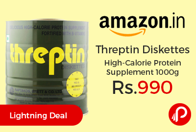 Threptin Diskettes High-Calorie Protein Supplement 1000g