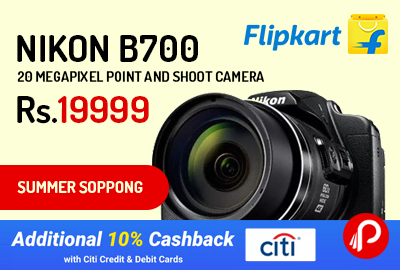 Nikon B700 20 Megapixel Point and Shoot Camera