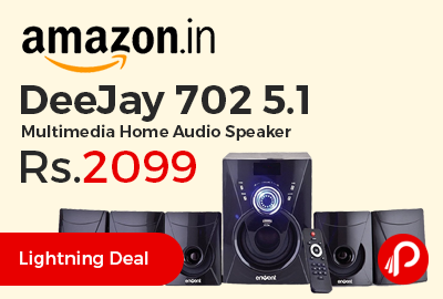 DeeJay 702 5.1 Multimedia Home Audio Speaker