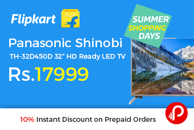 "Panasonic Shinobi TH-32D450D 32"" HD Ready LED TV"