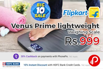 Venus Prime lightweight Weighing Scale