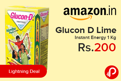 Glucon D Lime Instant Energy 1 Kg