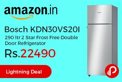 Bosch KDN30VS20I 290 ltr 2 Star Frost Free Double Door Refrigerator