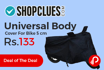 Universal Body Cover For Bike 5 cm