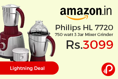 Philips HL 7720 750 watt 3 Jar Mixer Grinder