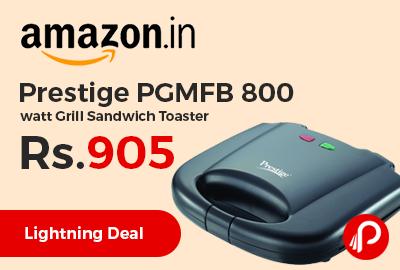 Prestige PGMFB 800 watt Grill Sandwich Toaster a