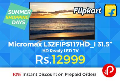"Micromax L32FIPS117HD_I 31.5"" HD Ready LED TV"