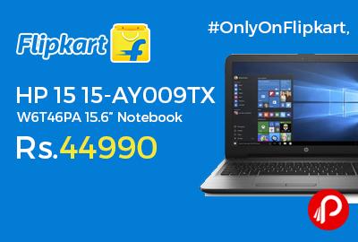 """HP 15 15-AY009TX W6T46PA 15.6"""" Notebook"""