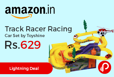Track Racer Racing Car Set by Toyshine at Rs.629 Only - Amazon