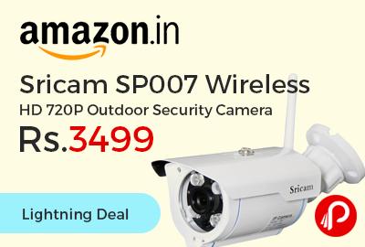 Sricam SP007 Wireless HD 720P Outdoor Security Camera