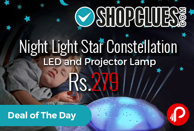 Night Light Star Constellation LED and Projector Lamp