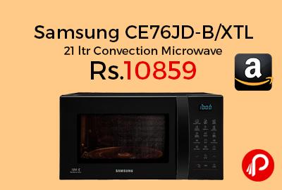 Samsung CE76JD-B/XTL 21 ltr Convection Microwave
