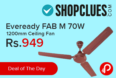 Eveready FAB M 70W 1200mm Ceiling Fan