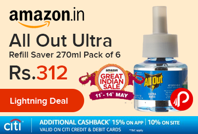 All Out Ultra Refill Saver 270ml