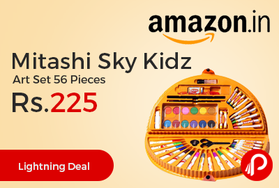 Mitashi Sky Kidz Art Set 56 Pieces