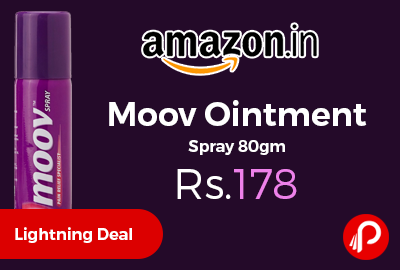Moov Ointment Spray 80gm