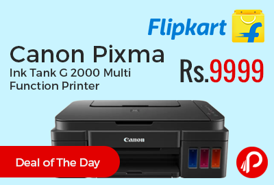 Canon Pixma Ink Tank G 2000 Multi Function Printer