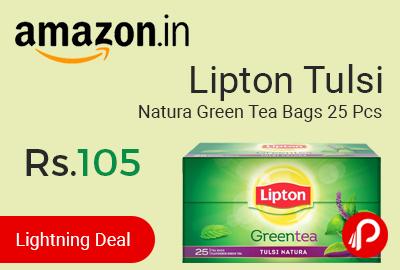 lipton tulsi tea bags