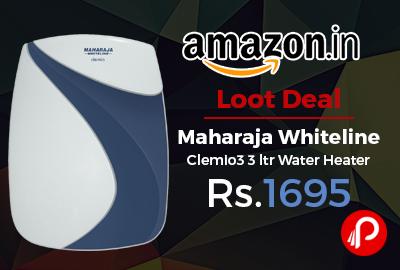 Maharaja Whiteline Clemio3 3 ltr Water Heater