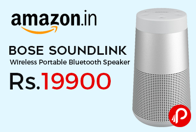 Bose Soundlink Revolve Wireless Portable Bluetooth Speaker at Rs.19900 - Amazon
