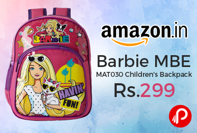 Barbie MBE - MAT030 Children's Backpack