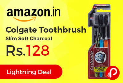 Colgate Toothbrush Slim Soft Charcoal