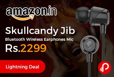 Skullcandy Jib Bluetooth Wireless Earphones Mic