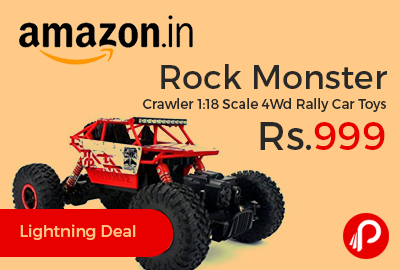 Rock Monster Crawler 1:18 Scale 4Wd Rally Car Toys