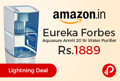 Eureka Forbes Aquasure Amrit 20 ltr Water Purifier