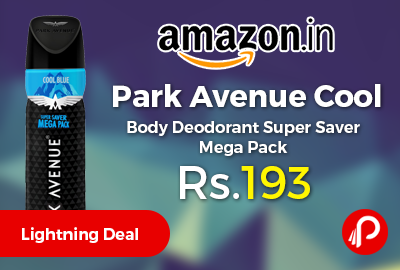 Park Avenue Cool Body Deodorant Super Saver Mega Pack