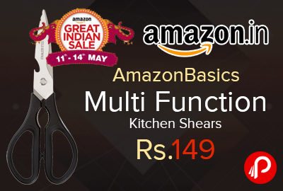 AmazonBasics Multi Function Kitchen Shears
