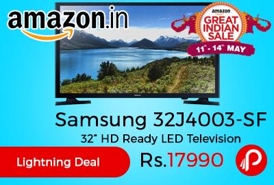 "Samsung 32J4003-SF 32"" HD Ready LED Television"