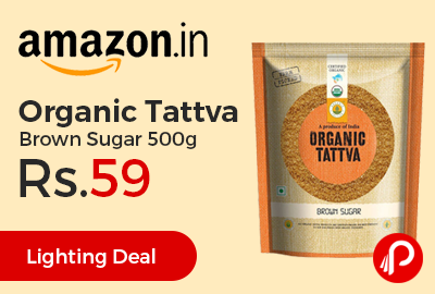 Organic Tattva Brown Sugar 500g