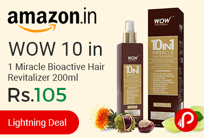 WOW 10 in 1 Miracle Bioactive Hair Revitalizer 200ml