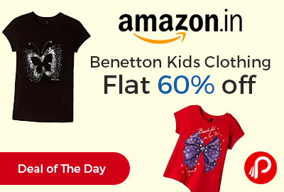 Benetton Kids Clothing Flat 60% off - Amazon