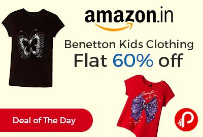 Benetton Kids Clothing Flat 60% off - Amazon