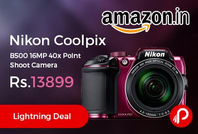 Nikon Coolpix B500 16MP Point Shoot Camera
