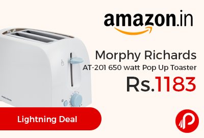 Morphy Richards AT-201 650 watt Pop Up Toaster