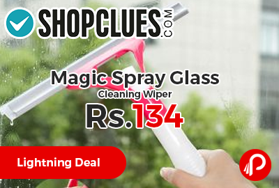 Magic Spray Glass Cleaning Wiper