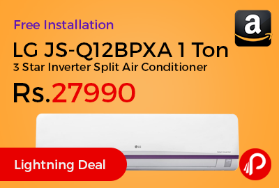 LG JS-Q12BPXA 1 Ton 3 Star Inverter Split Air Conditioner