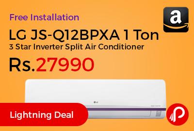 LG JS-Q12BPXA 1 Ton 3 Star Inverter Split Air Conditioner