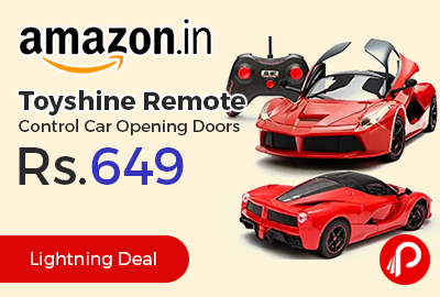 Toyshine Remote Control Car Opening Doors at Rs.649 Only - Amazon