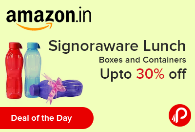 Signoraware Lunch Boxes and Containers