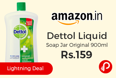 Dettol Liquid Soap Jar Original 900ml