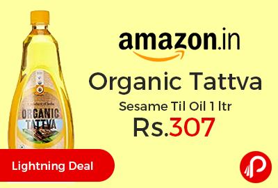 Organic Tattva Sesame Til Oil 1 ltr