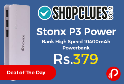 Stonx P3 Power Bank High Speed 10400mAh Powerbank